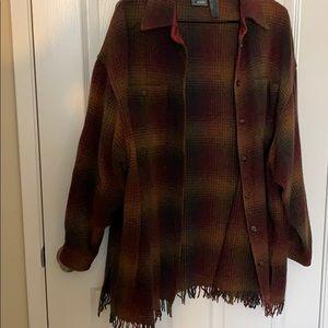 Liz Claiborne oversized flannel
